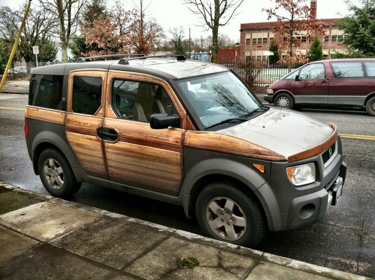 Honda element woodie