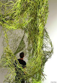Frères Bouroullec - Algues, 2004 Plastique, emboitable, Biomorphisme, micro architecture, mouvement