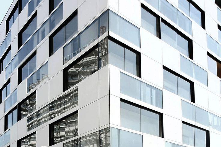 Concrete cladding / smooth / panel - EQUITONE [PICTURA] - Equitone