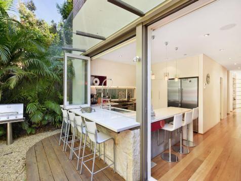 Indoor Outdoor Kitchen | Renovation Ideas | Pinterest | Indoor Outdoor  Kitchen, Indoor Outdoor And Kitchens