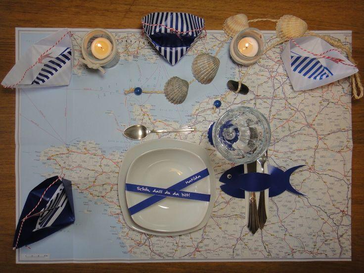 DIY Maritime Tischdeko