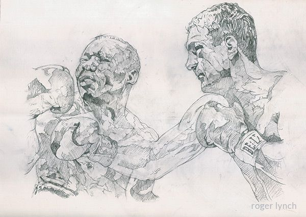 Rocky Marciano by Roger lynch
