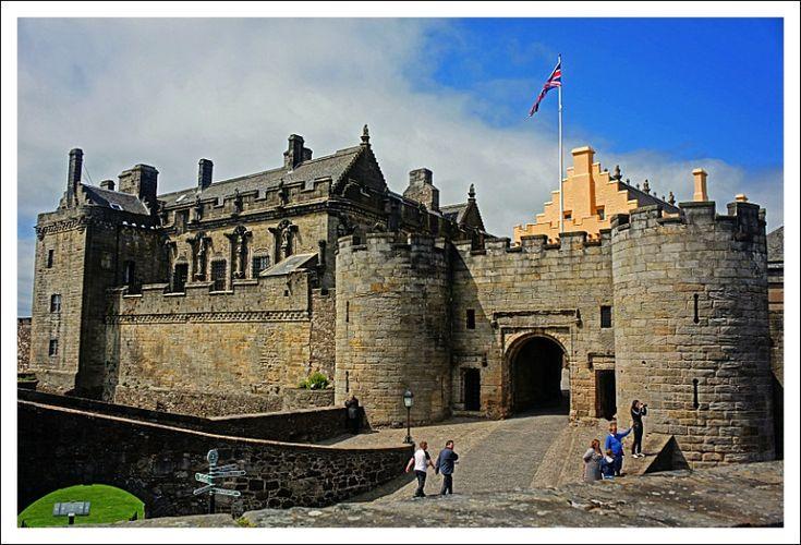 Stirling Castle, Scotland. My favourite Scottish castle.