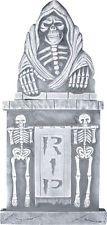 Tombstone 36 Inch Halloween Prop Haunted House Yard Decor Graveyard Reaper