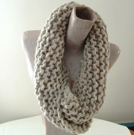 how to make a mobius loop knitting