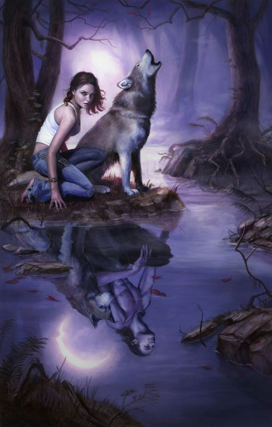 """Goth:  The #Moonstruck ~ """"Call of the Hunt."""""""