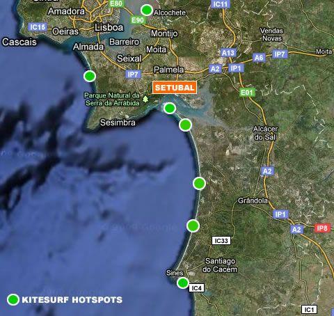 KITEsurf Spot, Comporta Portugal
