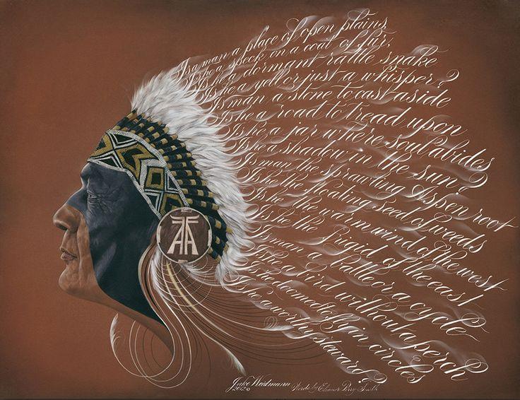 Неутраченное искусство каллиграфии: потрясающие работы Джейка Вайдмана