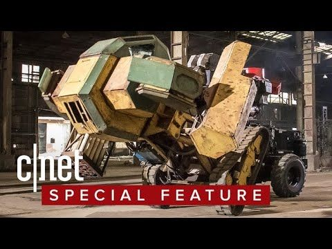 There's a combat league for giant fighting robots CNET