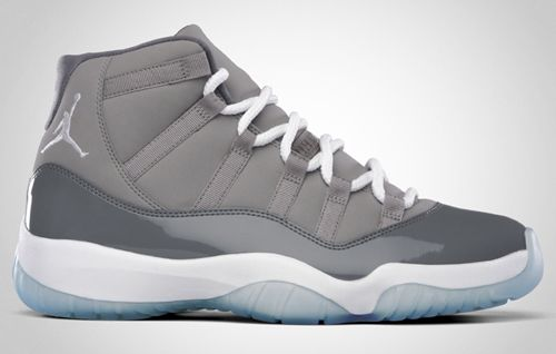 Air Jordan XI Cool Grey ... Absolutely my favorite pair of j's... Gotta find them