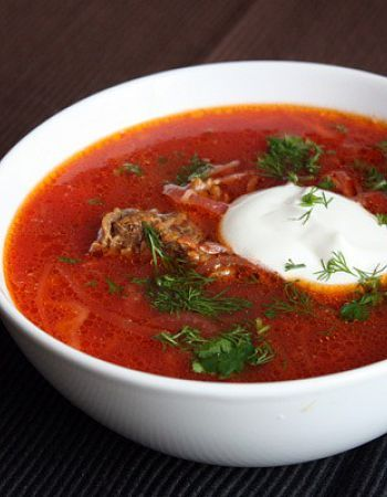 Ukrainian borsh - #kiev #food #soup #borsch #hot