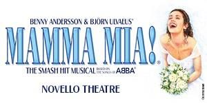 "Get Great Deals at Theatre Tickets Direct: Book Now for ""Mamma Mia"" at the Novello Theatre London https://goo.gl/2Chi6k"