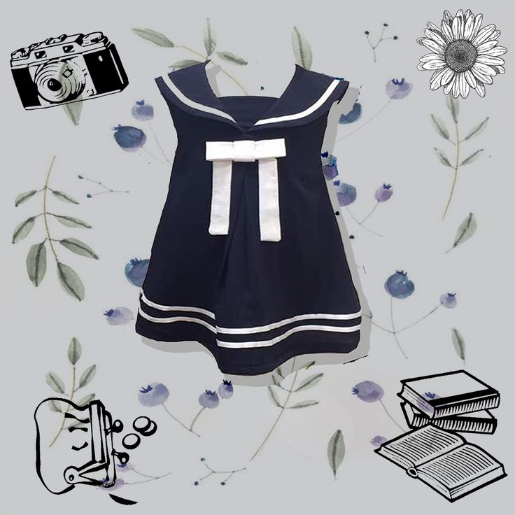 """""""Truth is a thing she must find for herself, precious, and rare as a pearl; Give her all these, and a little bit more, Gifts for a Blueberry Girl.""""  This blueberry dress signifies the freedom a girl craves all her life. She should be free as a bird, and enjoy her childhood to the fullest. This playful dress gives an easy to go look.  So, pamper your angle with this blueberry dress and let her feel as a blueberry girl."""