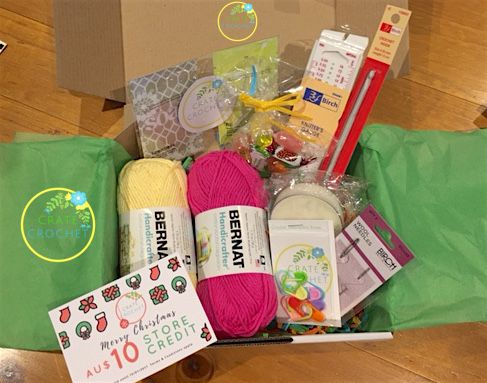 Crate Crochet Australia - Subscribe A 6 box Complete Beginners Course!