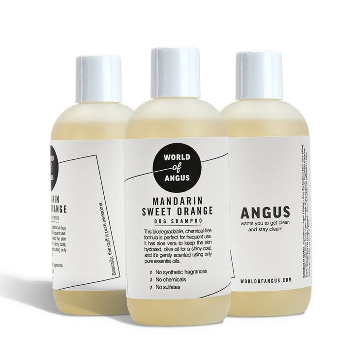 Hubba — Mandarin Sweet Orange Dog Shampoo - World of Angus