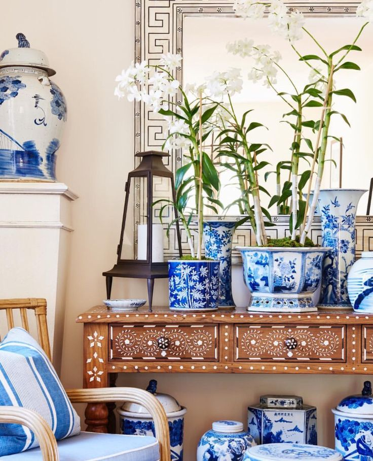 Blue And White Decor Ceramics Pinterest
