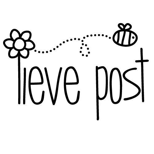 Stamp/Stempel Lieve post - € 9,95