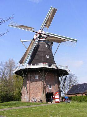 Flour and grinding mill Eva, Usquert, the Netherlands