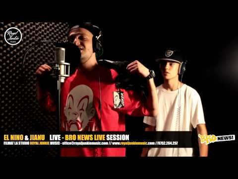 El Nino & Jianu @ Bro News Live Session (Video)