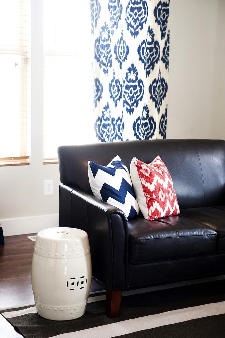 Meer dan 1000 afbeeldingen over ideas for my black couch op ...