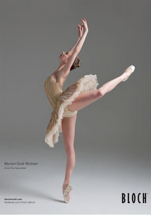 Myriam Ould-Braham Photo © Bloch perfect pointe and extension ballet