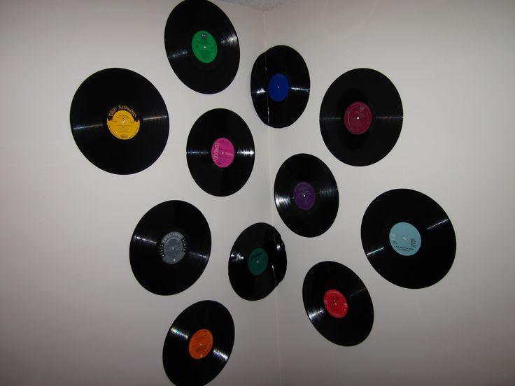 1000+ ideas about Record Decor on Pinterest