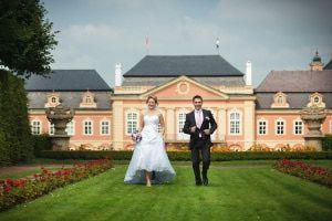 Свадьба в замке Добржиш