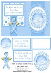 Prostate Cancer Card on Craftsuprint - View Now!