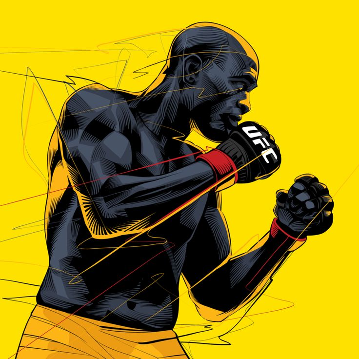 UFC - MMA Fighters - crisvector.com