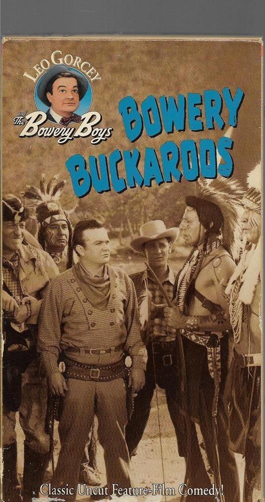 Bowery Boys - Bowery Buckaroos VHS Leo Gorcey, Huntz Hall, Bobby Jordan,