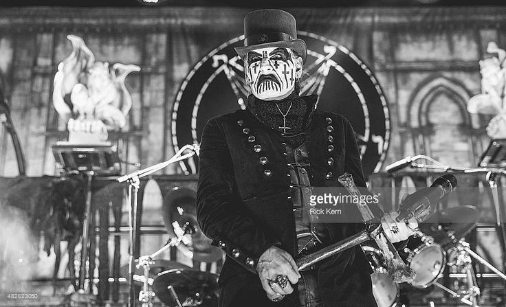 Singer-songwriter King Diamond performs onstage during the 2015 Rockstar Energy Drink Mayhem Festival at Alamo City Music Hall on July 31, 2015 in San Antonio, Texas.