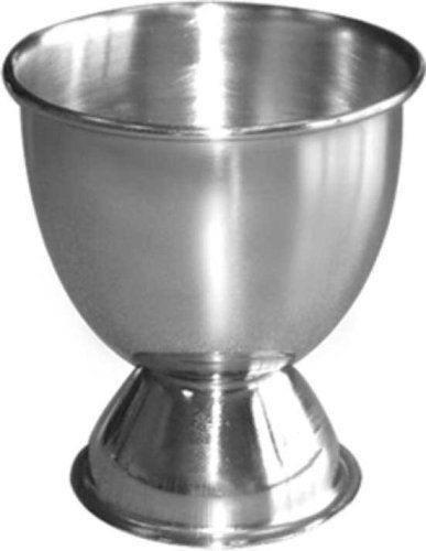 Steeltek S/6 Stainless Steel Egg Cups by Steeltek. $9.99. dishwasher safe. polished stainless. 6 stainless steel egg cups. 18/8 Stainless Steel Construction. Attractive, contemporary Stainless Steel Egg Cups could also be used for sauces, individual condiment servers