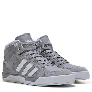 adidas Neo Raleigh High Top Sneaker Aluminum/White