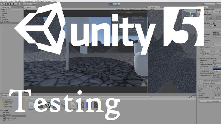 How To Make Mirrors in Unity 5 | Unity: Personal Testing #2