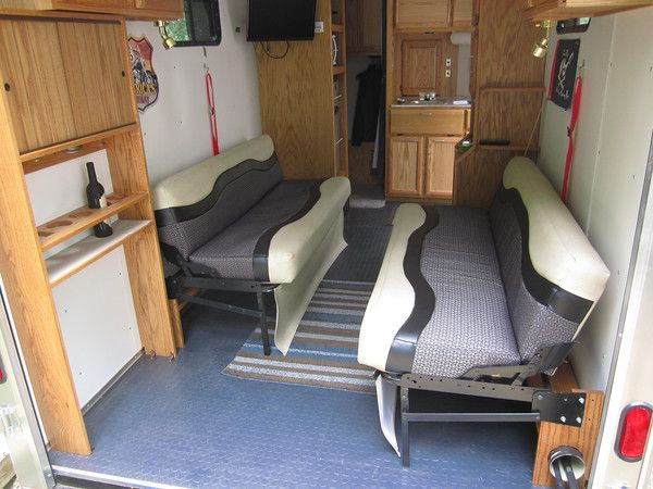 Enclosed Bed Google Search: Cargo Hauler Camper Conversion - Google Search