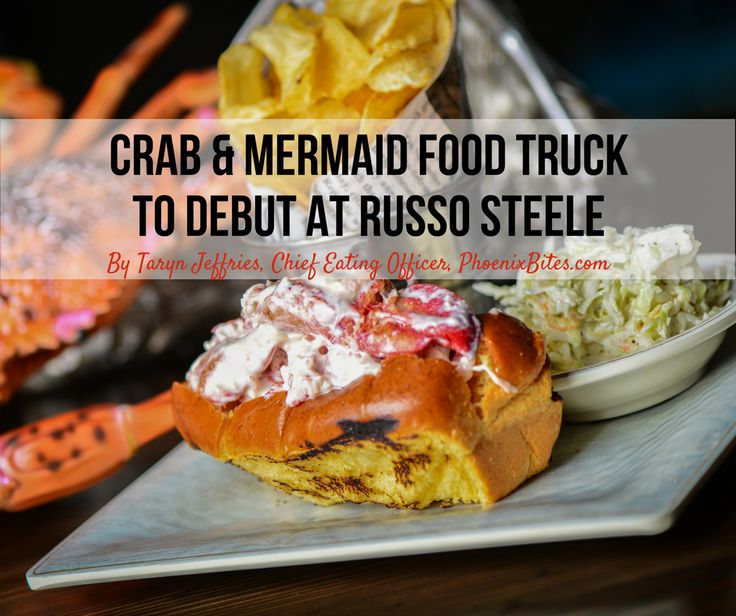 Crab & Mermaid will be debuting their new food truck at Russo & Steele auto show. Come see what special dishes you can get and where else you can find them!