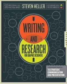 Heller, Steven. (n.d.). Writing and Research for Graphic Designers : A Designer's Manual to Strategic Communication and Presentation. Rockport. http://primo.unilinc.edu.au/SAQ:TN_ingram_myilibrary9781299928497