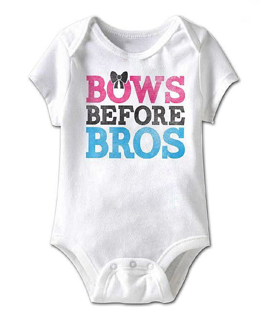 Bows Before Bros Bodysuit