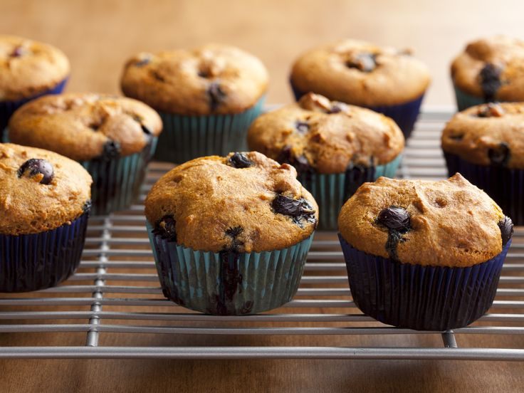 Gluten-Free Blueberry Muffins Recipe - Added 2 eggs (binder), 1/2 cup buckwheat flour (offset liquid in eggs), 1/2 cup molasses instead of agave, 1/4 cup Sprite (leavening+sugar) - Fantastic!!!! Can add 3/4 cup raisins.
