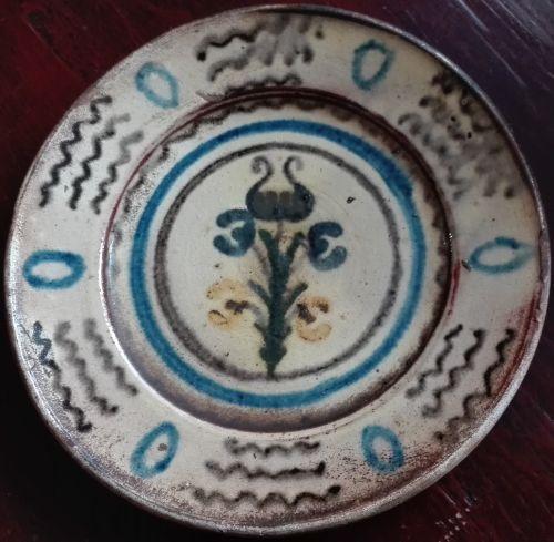 Franciszek Necel Kashubian folk plate