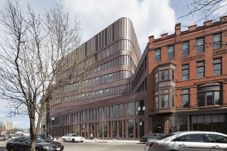 Bruce C. Bolling Municipal Building by Mecanoo Architecten b.v. in Boston, United States