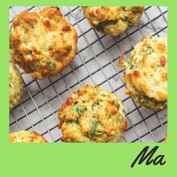 Heerlijke hartige muffins met kip en broccoli :) #muffins #hartig #ontbijt