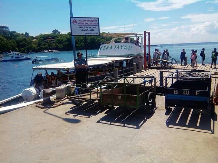 Transportation to Nusa (Island) Ceningan from Padangbai