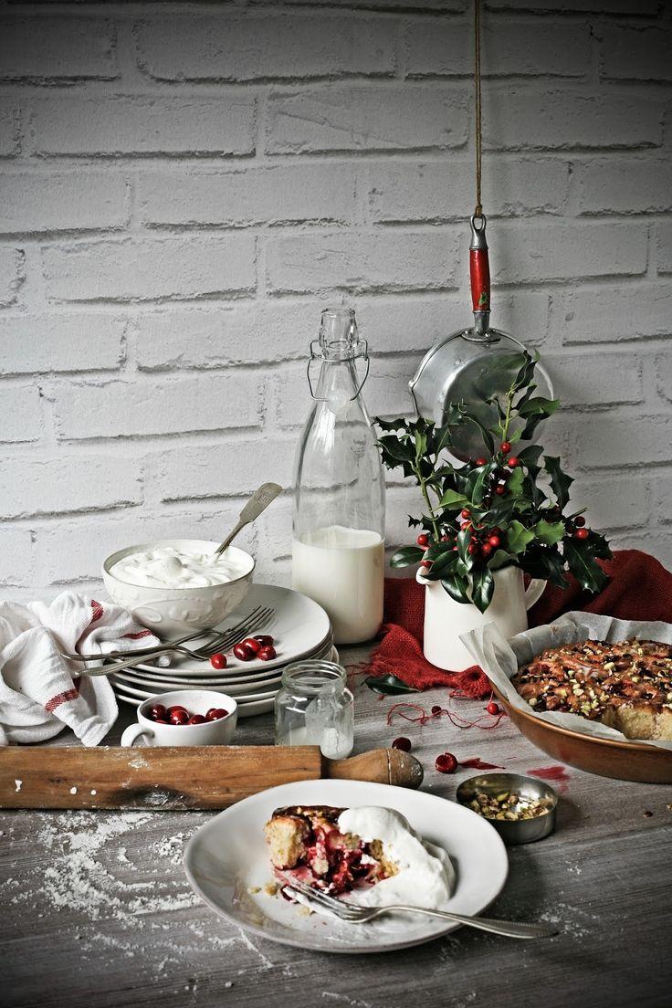Cranberry, ricotta and pistachio rolls   Pratos e Travessas   Mónica Pinto