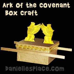 Ark of the Covenant Box Craft from www.daniellesplace.com