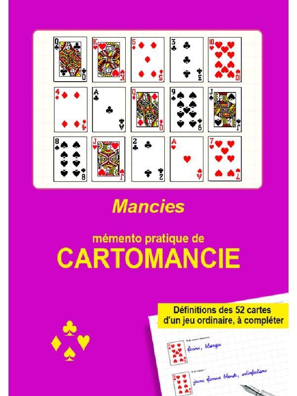 Memento De Cartomancie Pdf Mit Bildern