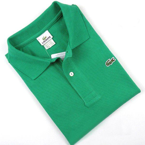 Acheter Polos Lacoste Homme vert clair Classique-Fit pas cher en ligne