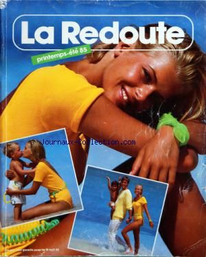 Catalogue La Redoute Printemps/Été 1985