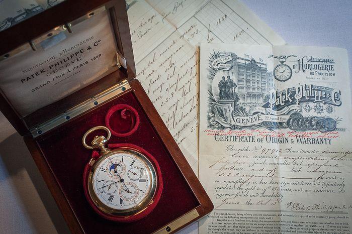 1898 Patek Grand Complication, only 2.25 million