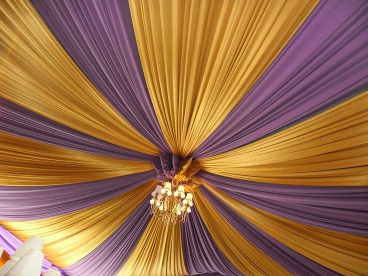 Plafon tenda pesta ukuran 6x8